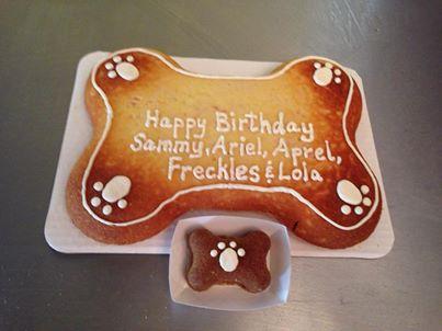 Furbabies Birthday Cake